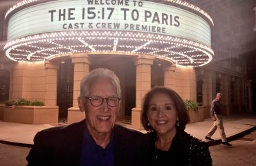 Elena Campbell-Martinez attends Cast & Crew Screening of The 1517 to Paris